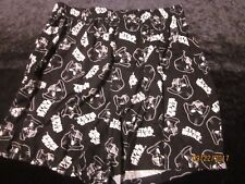 NEW men's BOXERS disney STAR WARS cotton DARTH VADER  black white SMALL