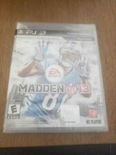 Madden NFL 13 (Sony PlayStation 3, 2012) Brand New PS3