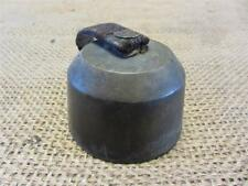 RARE Vintage Brass Cow Bell w 3 Clappers Antique Sheep Bells Old Iron Farm 8840