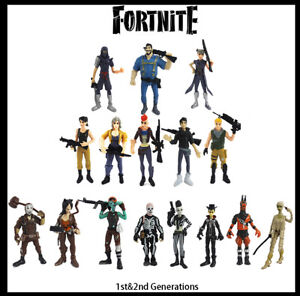 16PCS 1st 2nd Fortnite PVC Action Figure Pack Game Toy Doll Fortnight Playset AU