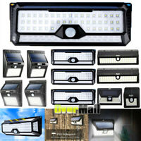 1/2/4Pack-Solar Power Sensor Wall Light Security Motion Waterproof Outdoor Lamp