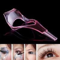3in 1 Eye lash mascara shield guard eyelash curler applicator tool comb gui PPCA