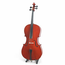 Cecilio CCO-100 Student Cello with Soft Case, Size 4/4