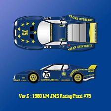 Model Factory Hiro 1/12 Ferrari 512BB LM Ver.C: 1980 LM JMS Racing/Pozzi #75