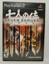 Seven Samurai 20Xx Sony PlayStation 2 Ps2 Usa