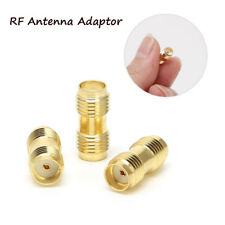 3pcs SMA Female to SMA Female Antenna RF Connector Adaptor For Two Way Radio