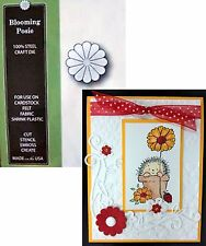 Blooming Posie metal die Memory Box cutting dies 862 flowers,daisy