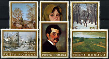 Romania 1975 SG#4124-4129 Paintings MNH Set #D47875