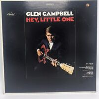GLEN CAMPBELL HEY, LITTLE ONE Capitol Vinyl LP 33 Country 1968 Stereo VG+ / VG+