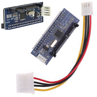 "1Set IDE to Serial SATA 3.5"" HDD Adapter Convertor Parallel To Serial Hard Dr Nw"
