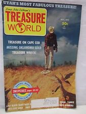Treasure World Magazine May 1971 Hunting Lost Mines Gold Cache Buried