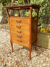 Chest of drawers, music cabinet, Arts and Crafts, antique