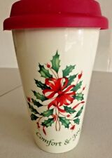 Lenox Holiday American by Design Travel China Coffee Cup NEW