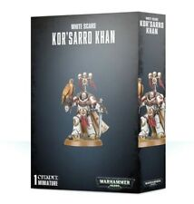 Space Marines Kor's Arro Khan Games Workshop Warhammer 40k White Scars Korsarro