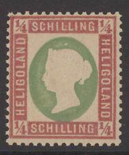 Helgoland Mi. Nr. 8b** postfrisch LUXUS geprüft Bühler