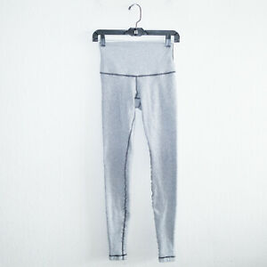 Lululemon Women's Gray Thick Winter Leggings Size XS