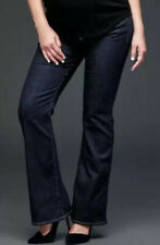NWT Gap Long and Lean Full Panel Dark Indigo Maternity Jeans Pants Sz. 0 Regular