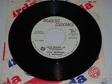 LOVE, DEVOTION, & HAPPINESS Love Potion #7 / Instro 45 Black Magic NM Funk-Disco