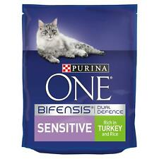 PURINA ONE Adult Sensitive Turkey & Rice Cat Food | Cats