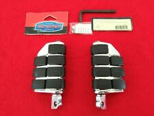 NEW KURYAKYN 8028 HARLEY DUALLY ISO PEGS HIGHWAY PASSENGER FOOTPEGS DYNA XL FXST