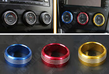 3 Colors Air Conditioning Knob Covers For SUBARU FORESTER OUTBACK XV 2013-2015