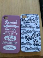 Set of 2 x Pointless Blog iPhone 5C Cases
