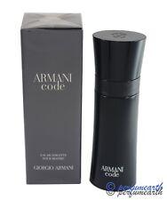 ARMANI CODE  2.5 OZ EDT SPRAY FOR MEN BY GIORGIO ARMANI & NEW IN A BOX