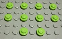 Lego Stone Rounded negative 1x4 Black 4 Piece 235 #