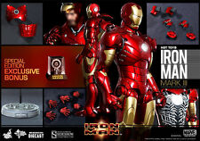 Hot Toys - 1/6 Scale Iron Man - Mark 3 III Diecast Special Edition (In Stock)