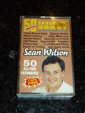 SEAN WILSON - 50 all-time favourites - UK 50-track Cassette