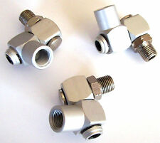 3 Goliath Industrial Aluminum Air Swivel Fitting Connectors Hose Tool Coupler