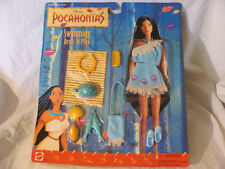 BRAND NEW DISNEY'S SWIMMING DRESS 'N PLAY POCAHONTAS DOLL CLOTHES MATTEL 68452
