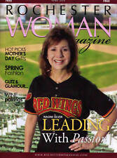 Red Wings - Rochester Woman Magazine - Naomi Silver CEO