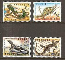 BELGIUM # B779-82 MNH ANIMALS ANTWERP ZOO LIZARD TURTLE