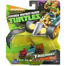 Teenage Mutant Ninja Turtles T-Machines Michelangelo in Hot Rod Diecast | 97219