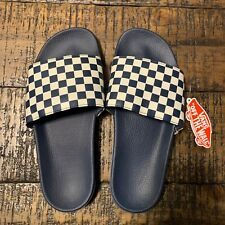 VANS Slide-on  checkerboard  in Dress Blue Sz 8 VN0A33TYQ4D 142f55fd0