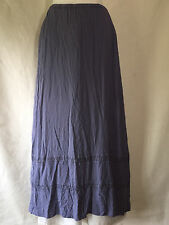 NWT GHOST of England Boutique Bluebell Long Ribbon Skirt Viscose Rayon Petite P