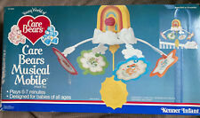 vintage Care Bears Musical Mobile infant crib toy