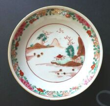 Coupelle assiette chinoise XVIIIème Antique kangxi porcelain chinese plate 18th