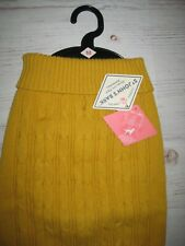 New listing St. John's Bark Puppy/Dog Cable Knit Sweater Fall Yellow Size Med *New With Tags