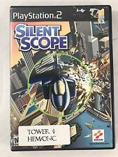 Silent Scope  (Sony PlayStation 2, PS2) - Disc And Case Free Fast Shipping !!