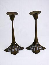 Candélabres Bronze / forme de tour Eiffel Art nouveau.Expo Universelle de 1889 ?