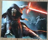 ADAM DRIVER AUTOGRAPHED STAR WARS KYLO REN 8X10 PHOTO