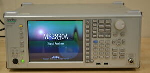 Anritsu MS2830A Signal/Spectrum Analyzer 9khz-13.5GHz Guaranteed GOOD