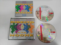 DIRECTO A LA NOCHE - 2 X CD FAT BOX 1994 DEEP FOREST ROZALLA CHIMO BAYO