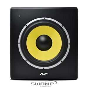 AVE Fusion10S Powered Studio Monitor Subwoofer 300W Peak Sub Variable Crossover