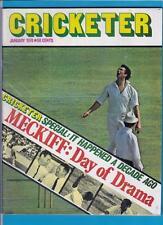 Cricketer,  January 1974,  Magazine