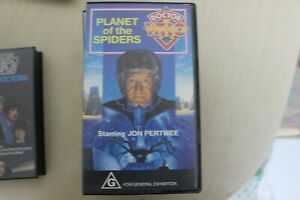 DOCTOR WHO VHS planet of the spiders