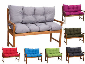 Bench cushions outdoor,  indoor cushions,swing cushions for 2-3seater sofa, new