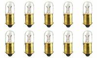CEC Industries #47 Bulbs, 6.3 V, 0.945 W, BA9s Base, T-3.25 shape (Box of 10)